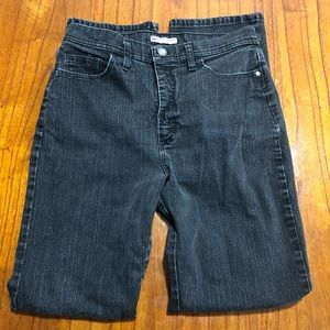 Lee classic fit straight leg at the waist jeans